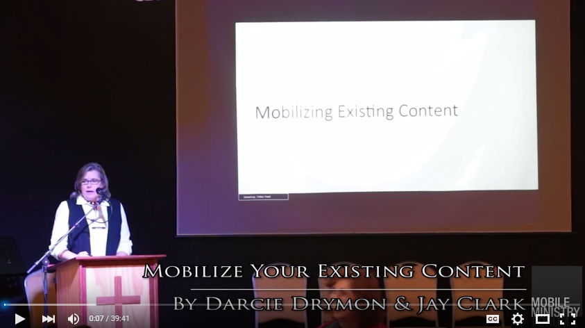 Mobilize your Existing Content